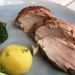 Schweinefilet aus dem Ofen mit feiner Senfnote