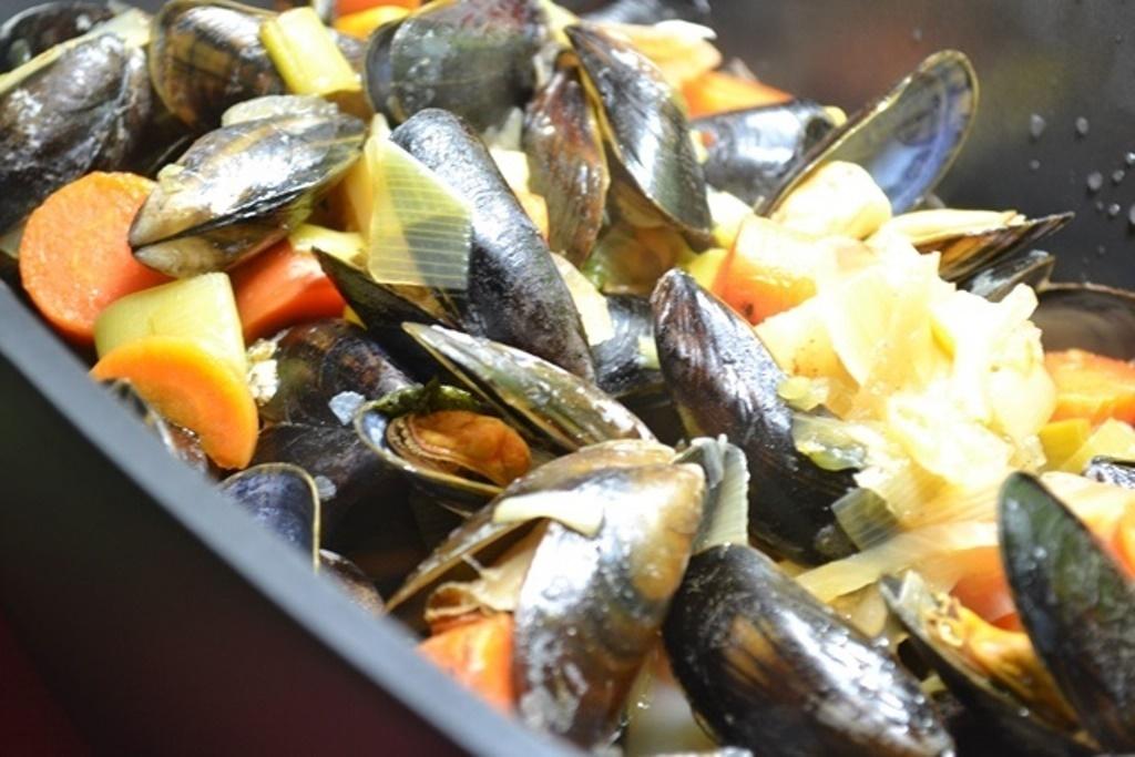 Schmeckt nach Meer: Muscheltopf