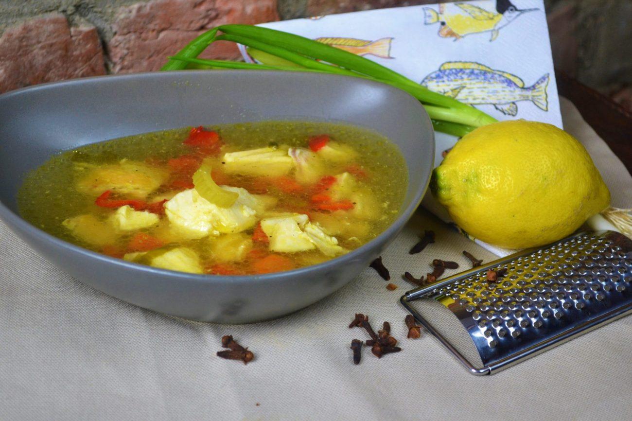 Holländische Fischsuppe