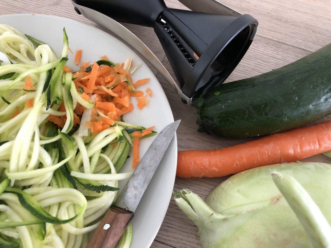 Mit Zoodles werden Kinder Gemüse-Fans