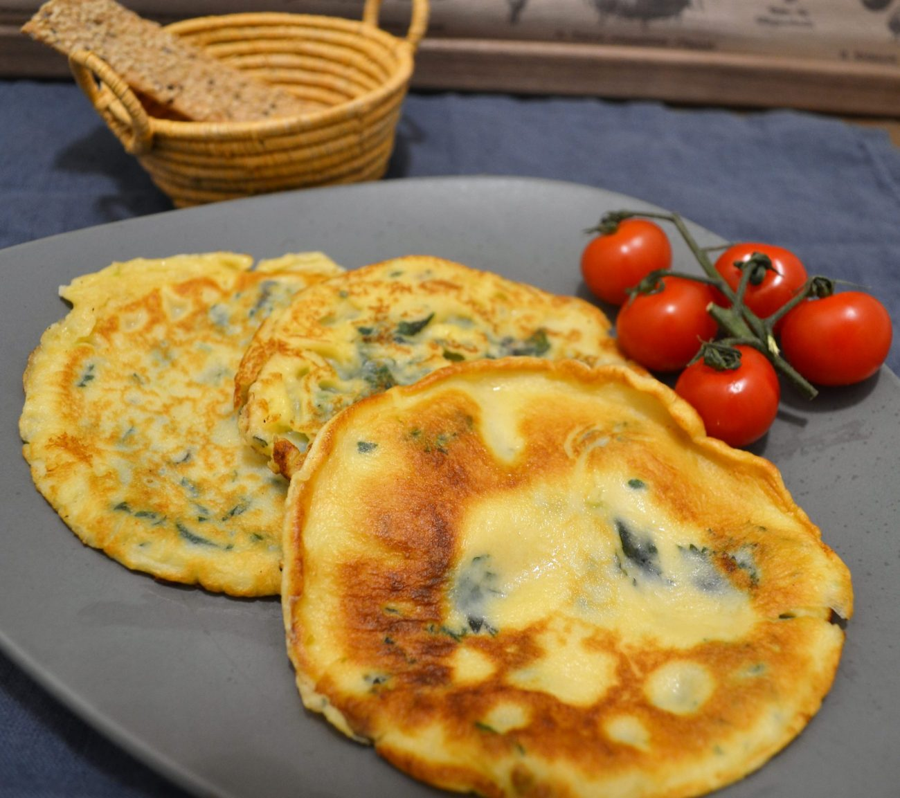 Brennessel-Pfannkuchen