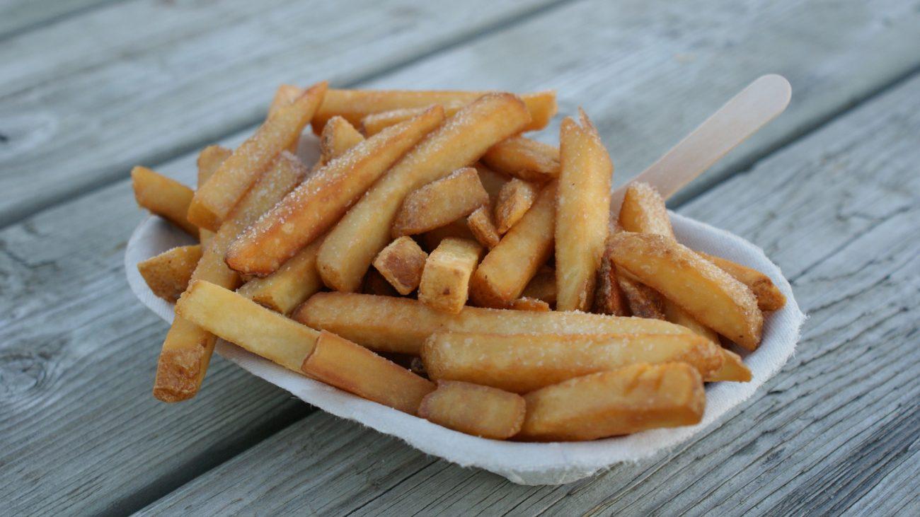 Am besten aus frischen Kartoffeln: Fritten