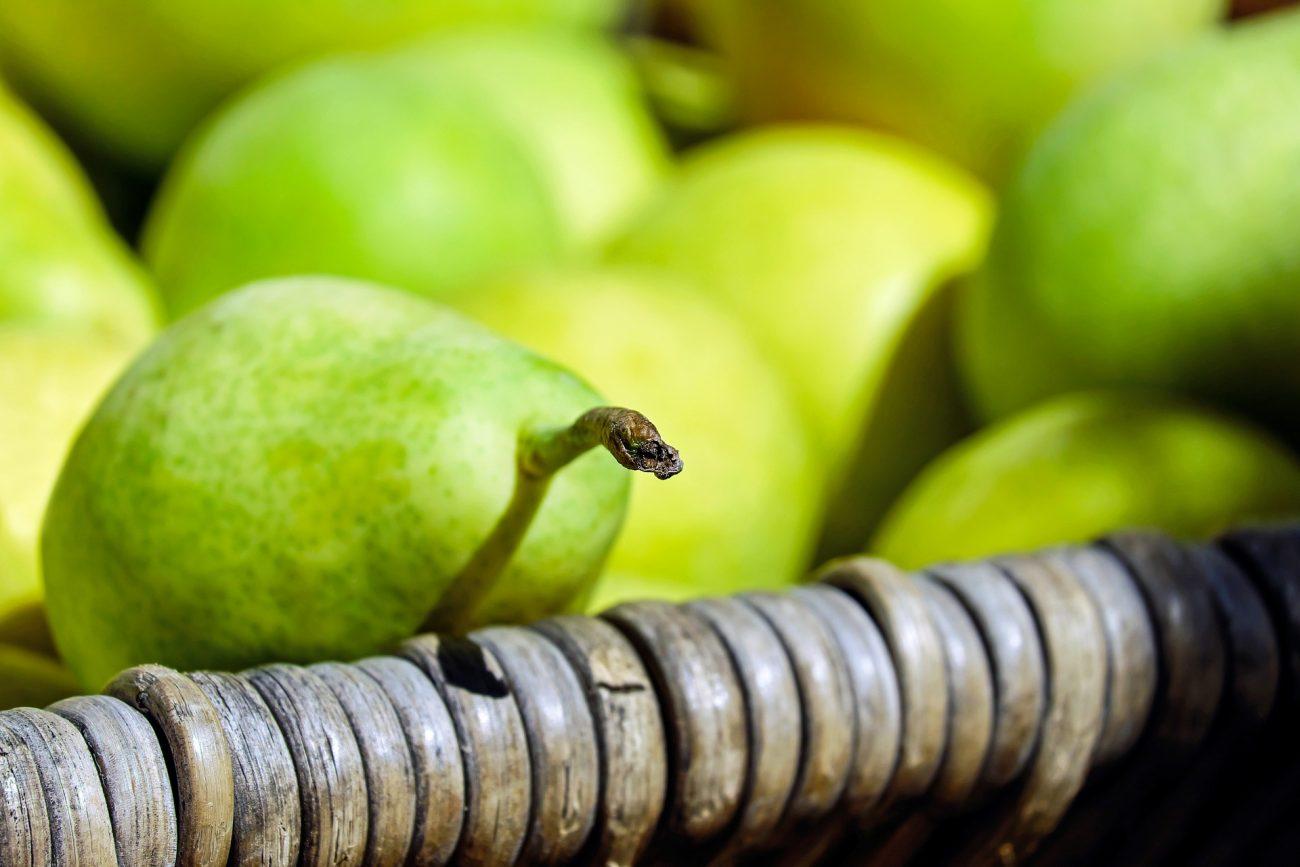 Birnen nicht zu weich kaufen