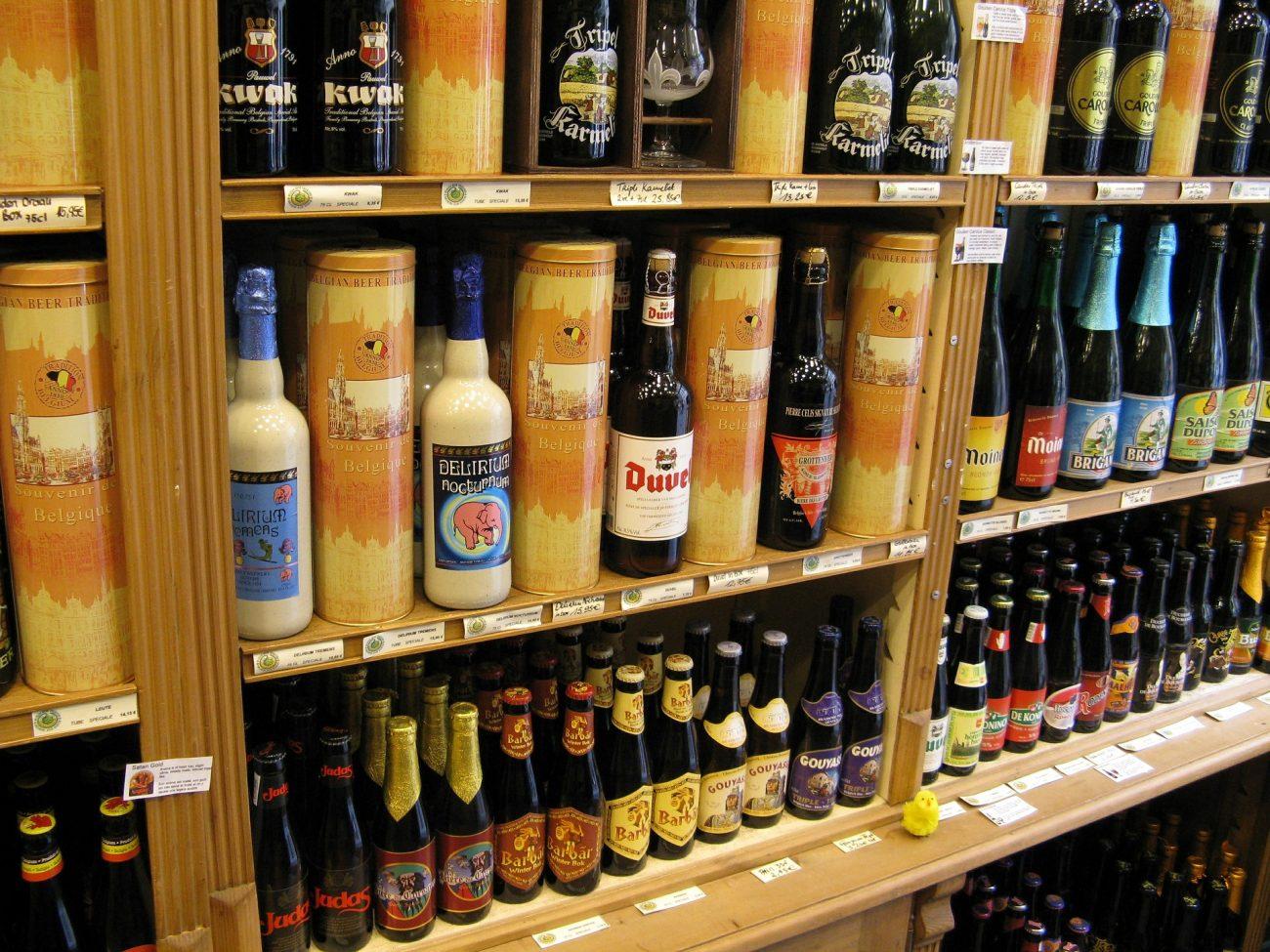 Belgisches Bier als Dessert