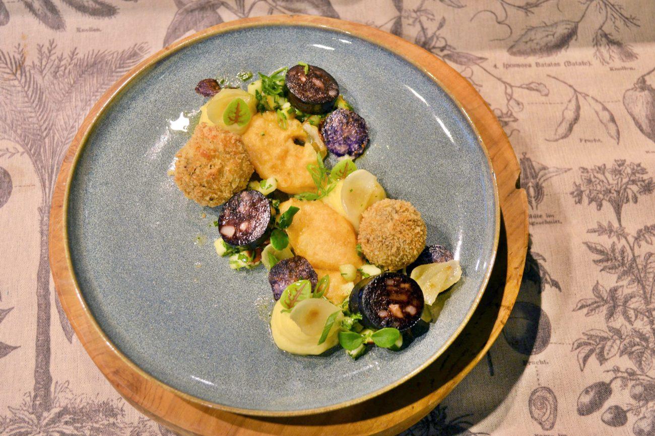 Der Klassiker als Gourmet-Variante: Himmel und Ääd