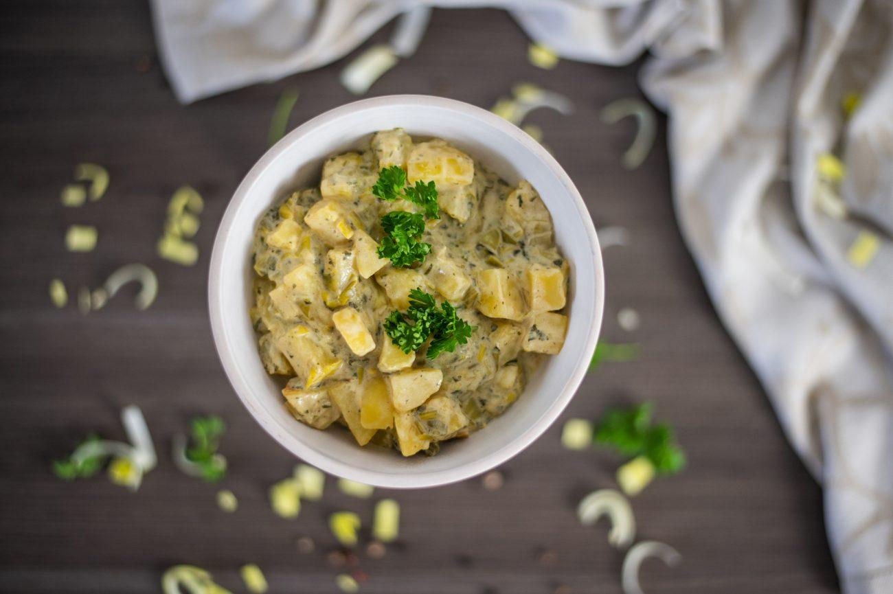 Kartoffelgemüse mit Lauch