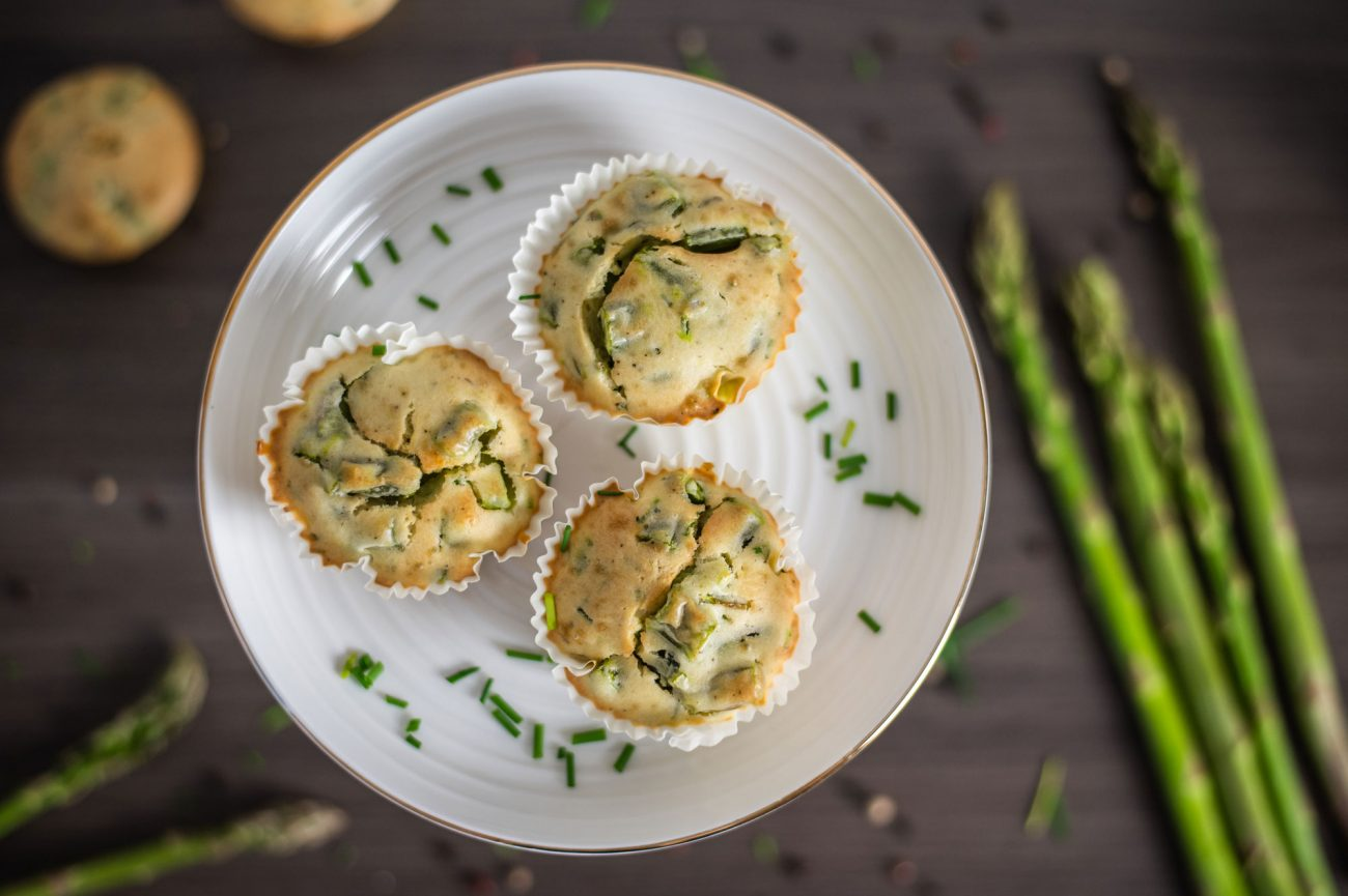 Spargel-Muffins