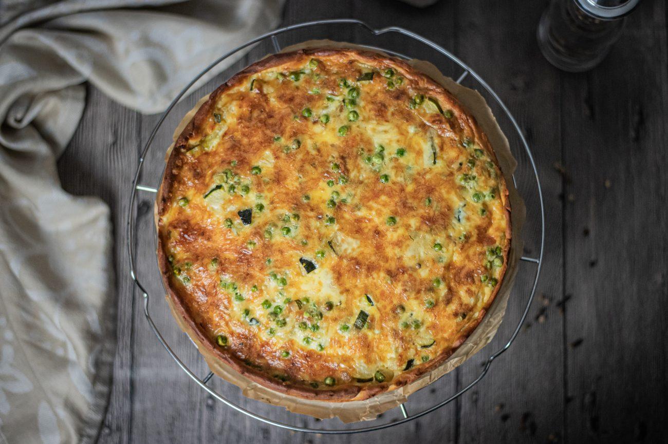 Pikante Zucchini-Torte